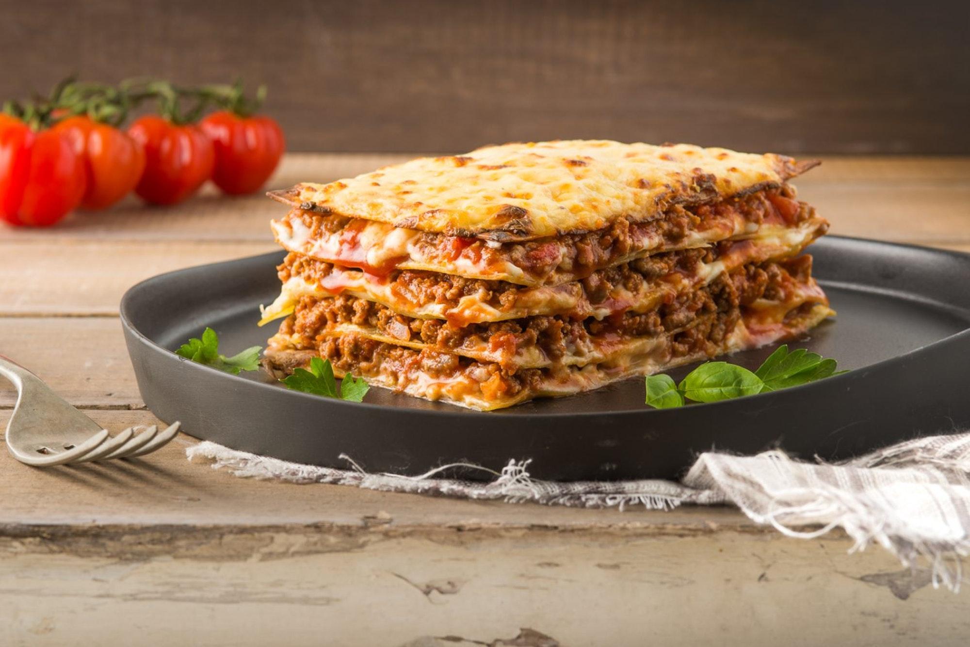 Easy Meat Lasagna San Remo